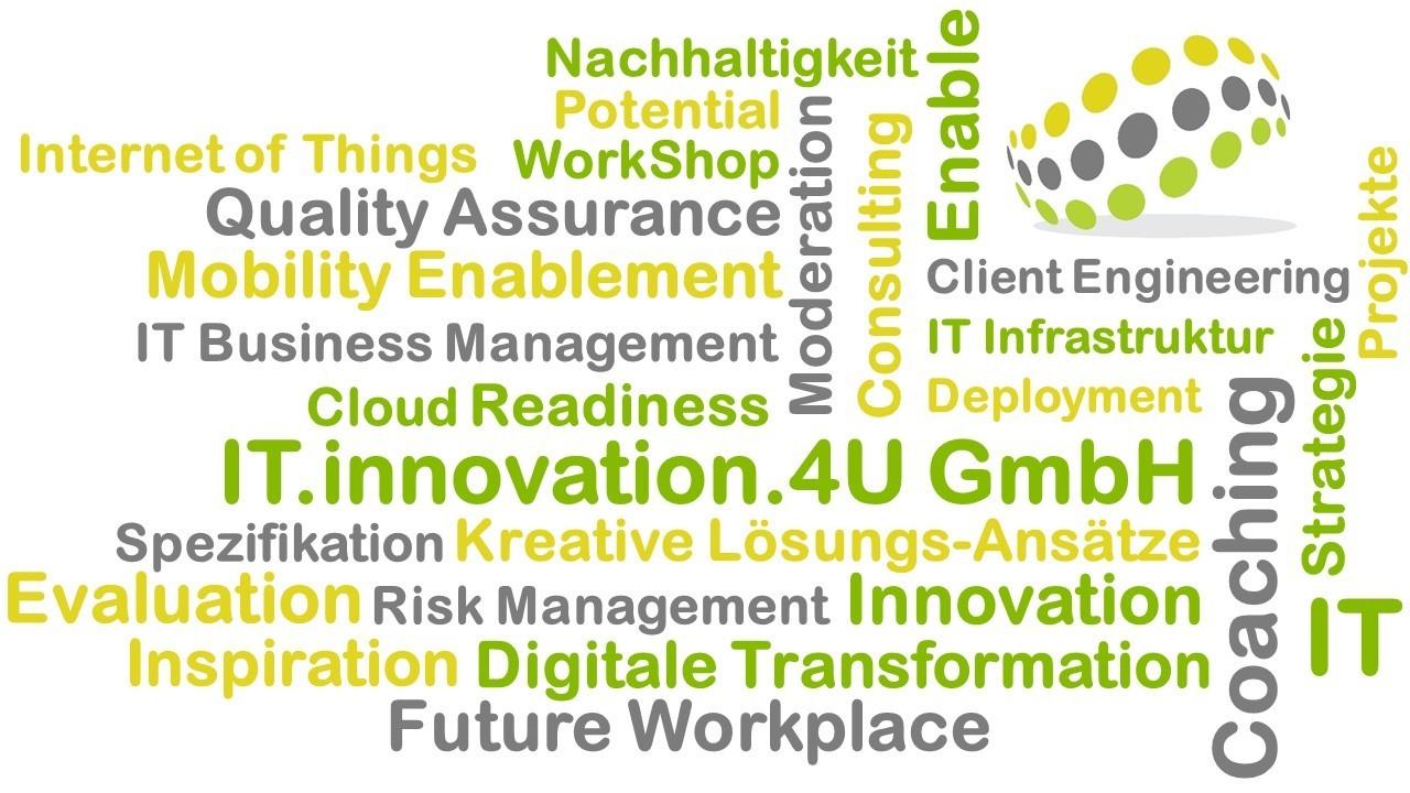 Massgeschneiderte IT Dienstleistungen IT.innovation.4U GmbH