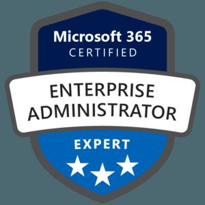 Microsoft 365 Enterprise Adminstrator Expert