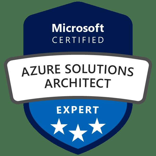 Microsoft Azure Solutions Architect Expert